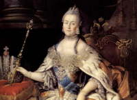 «Екатерина II и французские просветители».