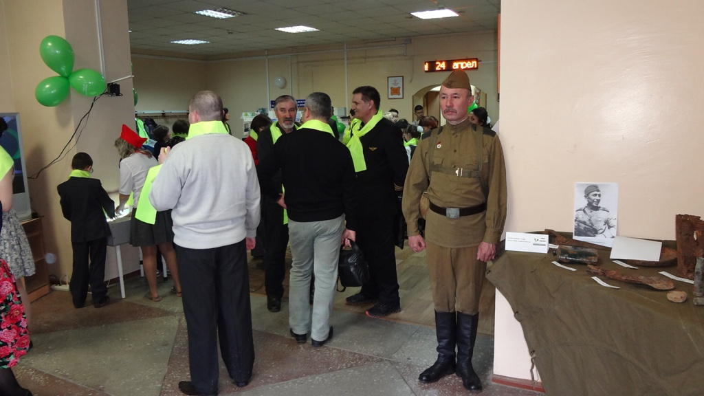 Передвижная экспозиция Музея боевой Славы РБ