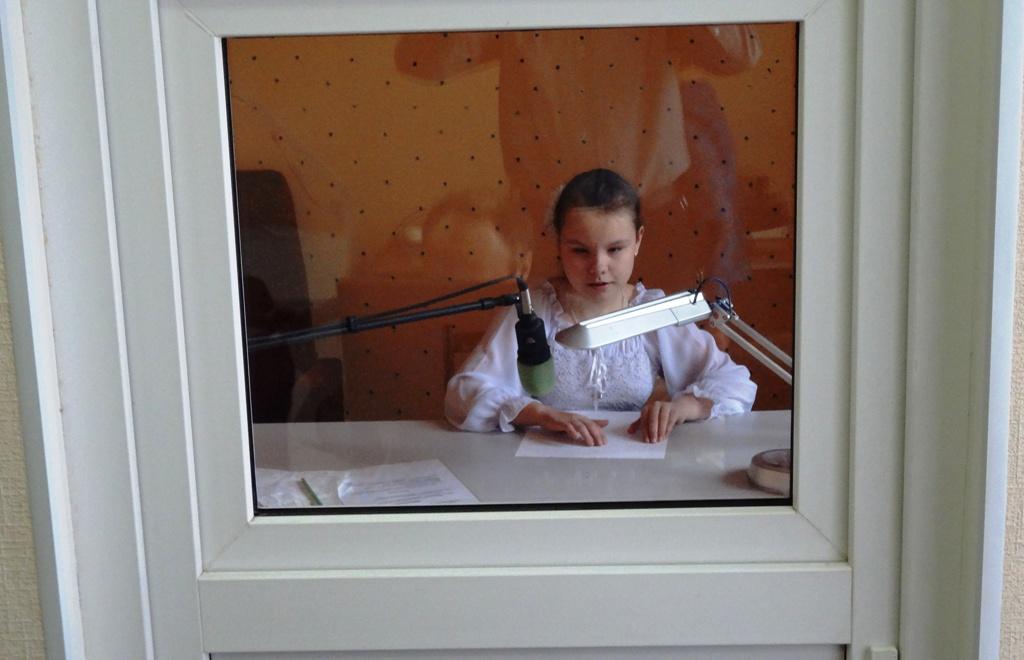 Запись книги в студии звукозаписи
