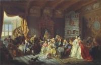 Расцвет придворной культуры: ассамблеи, пиры, маскарады